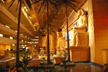 Interior del Casino Luxor