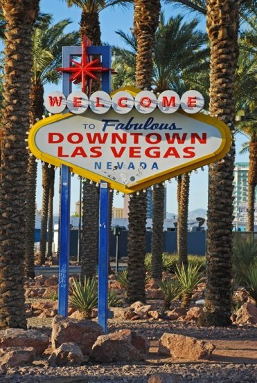 Entrada a Downtown Las Vegas