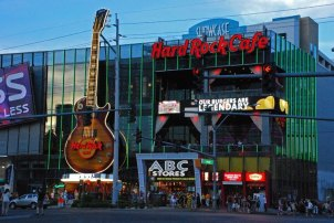 The Strip - Hard Rock Café