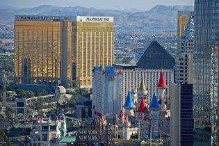Vistas del Strip - Casinos Excalibur & Mandalay
