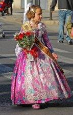 Ofrenda floral - Fallera