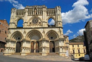Fachada de la Catedral de Cuenca