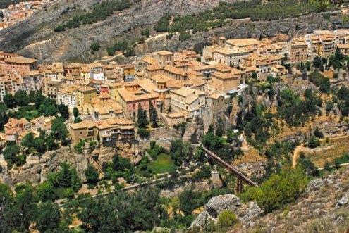 Centro Histórico desde el cerro del Sagrado Corazón
