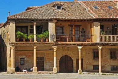 Casa típica soportalada - Plaza Mayor