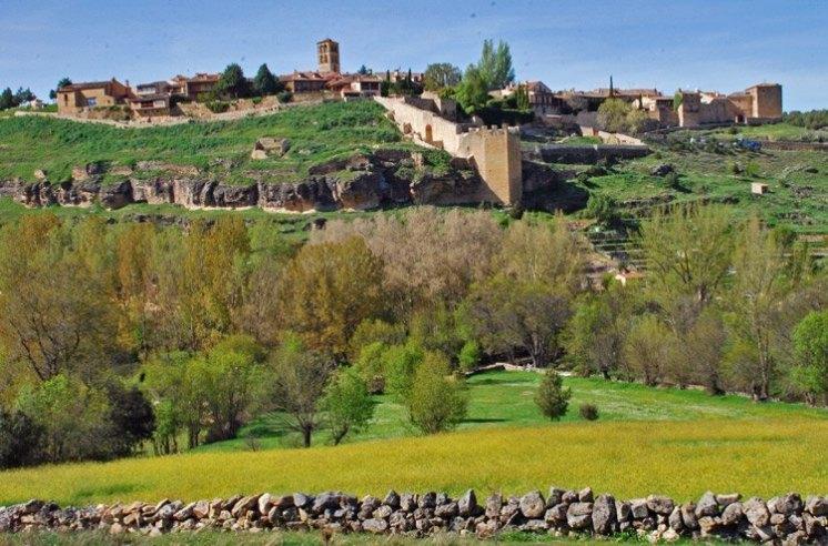 Vista de la Villa de Pedraza