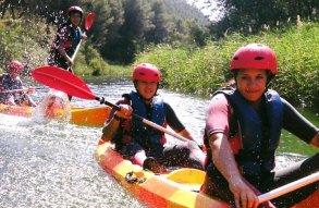 Canoas y Piraguas