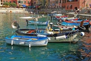 Barcos en Vernazza