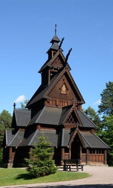 Norsk Folkmuseum. Iglesia de Gol