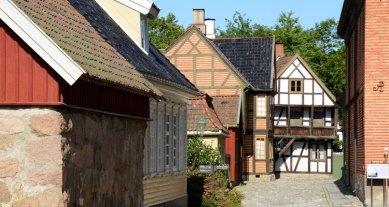 Norsk Folkmuseum. Gamlebyem
