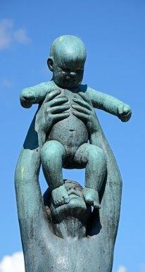 Parque Vigeland. Padre e Hijo