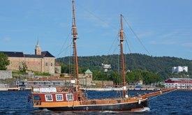 Crucero y Castillo de Akershus