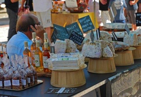 Productos corsos - Mercado de Ajaccio