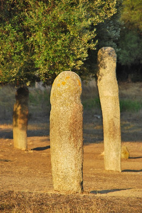Filitosa - Menhires