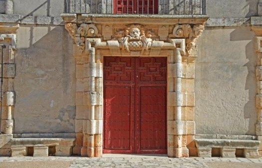 Detalle: Portada Palacio