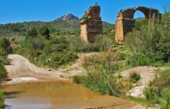 Acueducto Romano - Tramos en ruinas