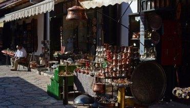 Bascarsija. Bazar