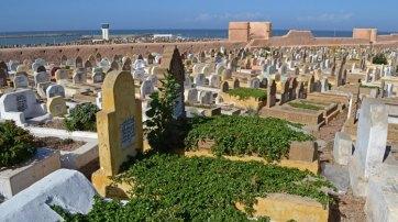 Cementerio, Murallas y Faro de Salé