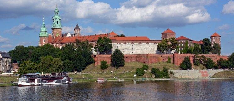 Río ´Vístula y Colina de Wawel