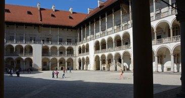 Patio del Castillo de Wawel