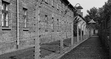 Auschwitz I. Alambradas y Barracones