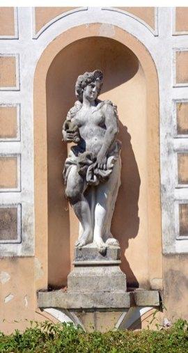 Villa Pisani. Jardines. Venus
