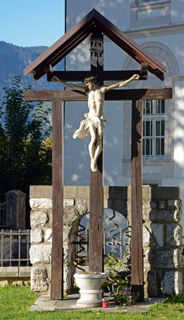 Plaza de la Iglesia de San Martín. Via Crucis