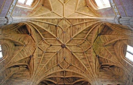 CASALARREINA - Monasterio: Bóvedas