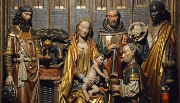 Tríptico de los Reyes Magos. Gil de Siloé
