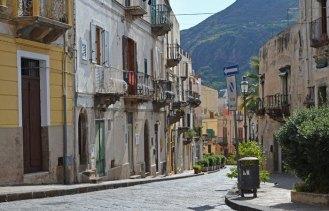 Calle típica de Lipari