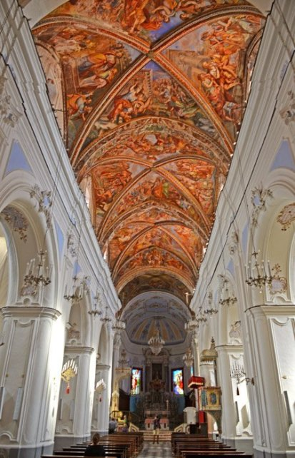 Bóvedas de la Catedral de Lipari