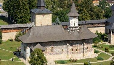 Monasterio Sucevita. Iglesia
