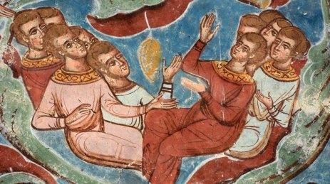 Monasterio Moldevita. Árbol de Jesé. Detalle