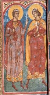 Monasterio Moldevita. Monjes Cirilo y Metodio