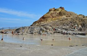 Baños de lodo sulfurosos (Isla de Vulcano)