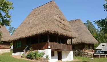 Museo de Arquitectura Popular. Casas de Transilvania