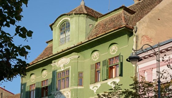 Strada Nicolae Balcescu. Casa Verde
