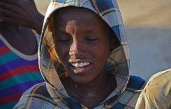 Niños pastores Afar