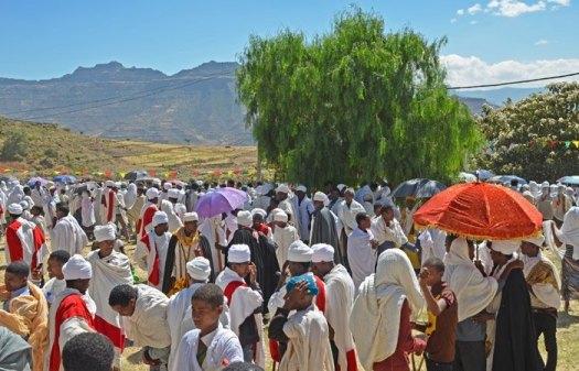 Lalibela: Ceremonias Cristianas