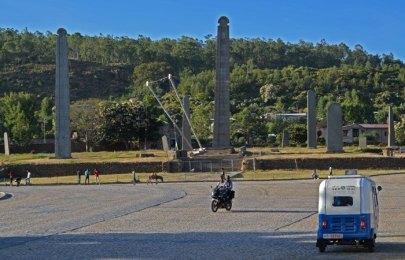 Plaza de los Obeliscos