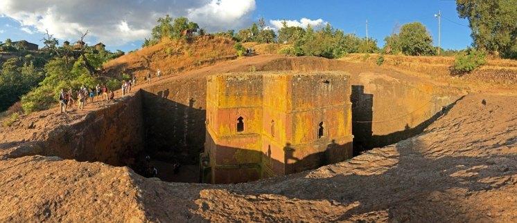 Lalibela: Iglesia Rupestre de San Jorge