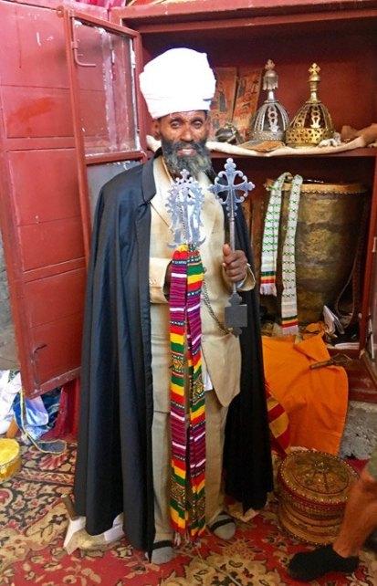 Lalibela: Sacerdote Etíope