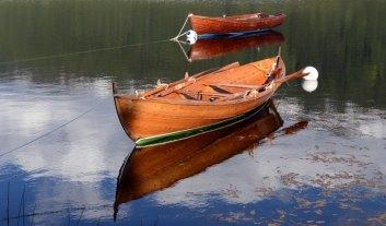 Barcas en el Lago de Oppheim