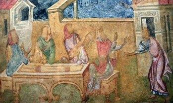 Ivanovo. Frescos de la Iglesia Rupestre de la Santa Madre de Dios