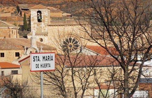 Monasterio desde la carretera