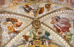 Frescos de la cúpula del altar mayor
