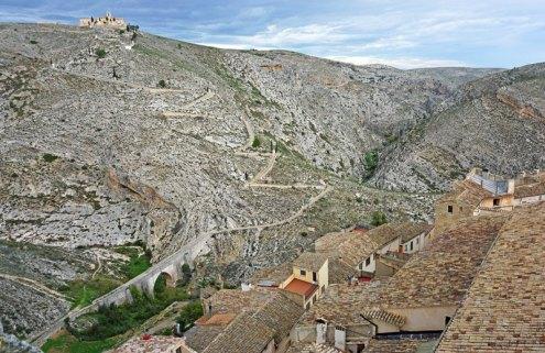 Vistas desde el Campanario: Via Crucis y Ermita del Santo Cristo