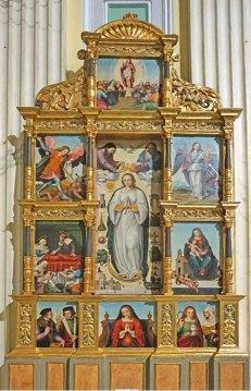 Retablo de la Coronación de la Virgen