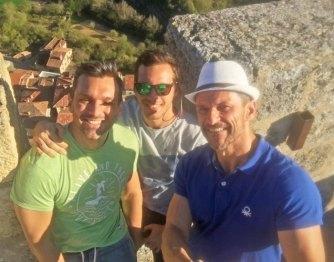 Héctor y César con CarlosdeViaje en Frías