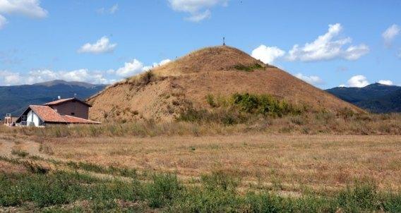 Valle de los Reyes Tracios. Túmulo Mogila Ostrusha