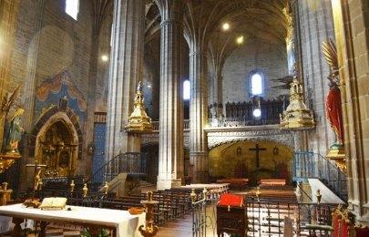 Interior Iglesia de la Asunción